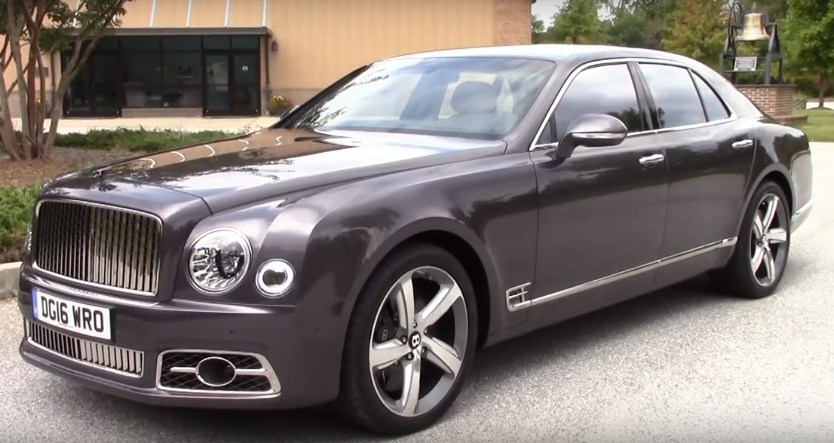 Премиум класс Bentley Mulsanne