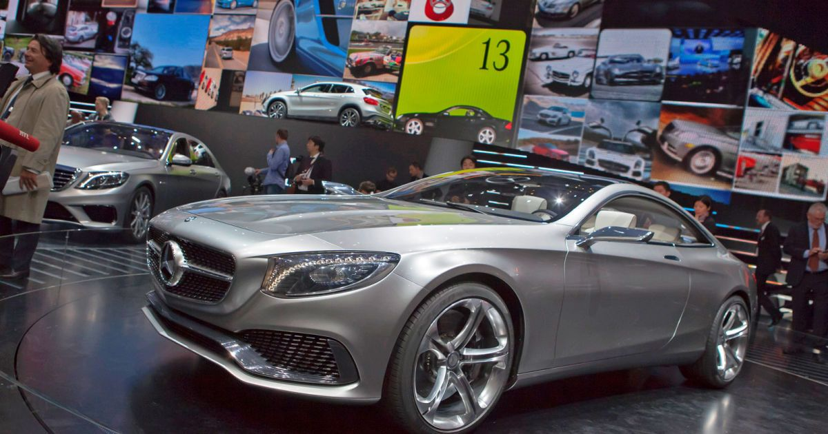 Mercedes presented the model S-Class Cabrio