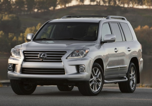 Lexus LX was sold in Russia