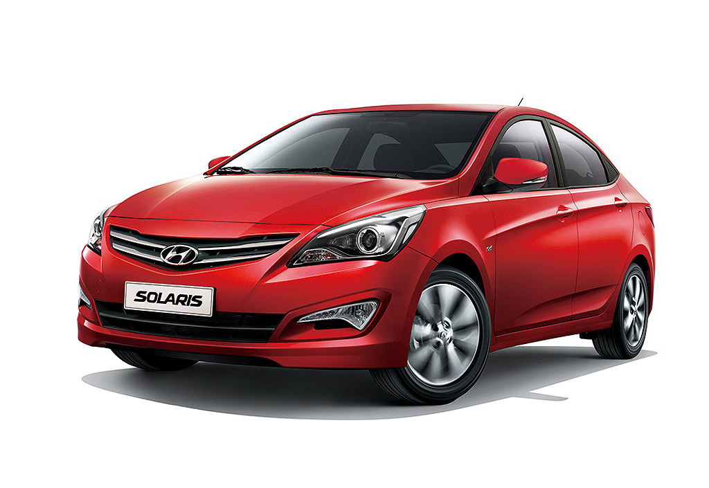 Hyundai Solaris became the most popular car of the capital