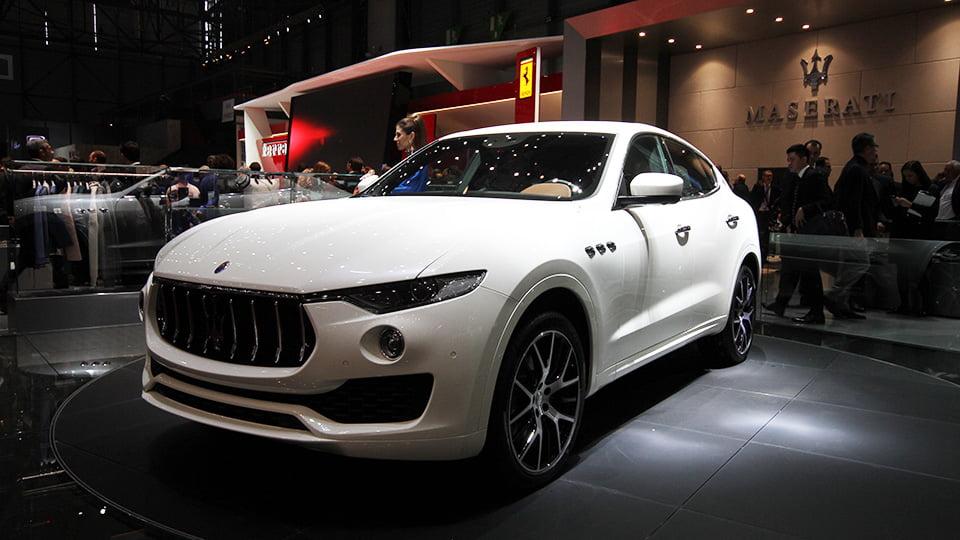 Die Italiener stellte den Maserati Levante SUV