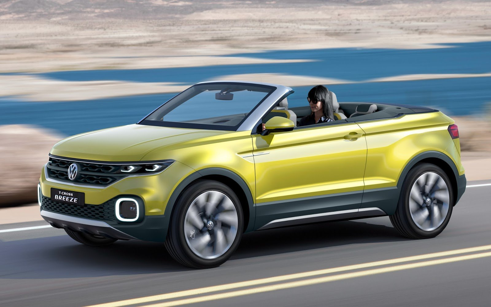 Volkswagen T-Class Breeze: hybrid convertible and crossover