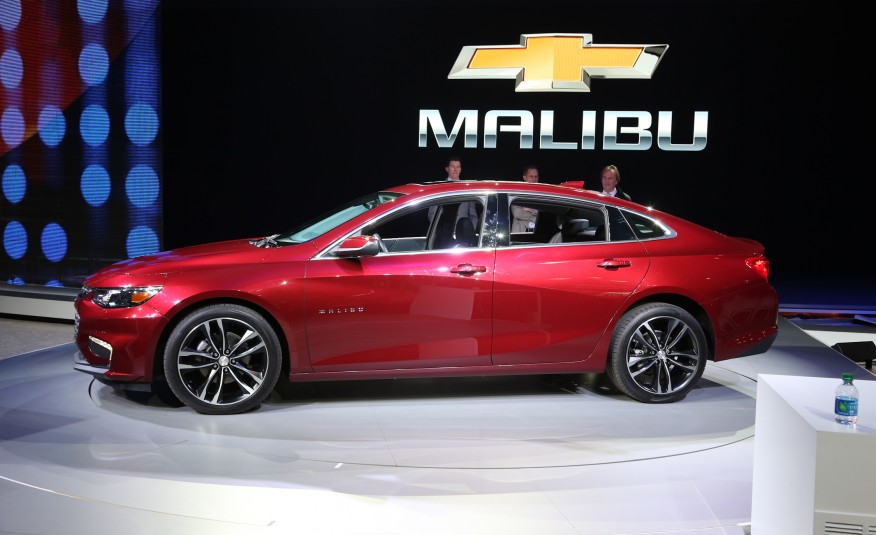 Компания «Chevrolet» представила гибридную версию Malibu Hybrid