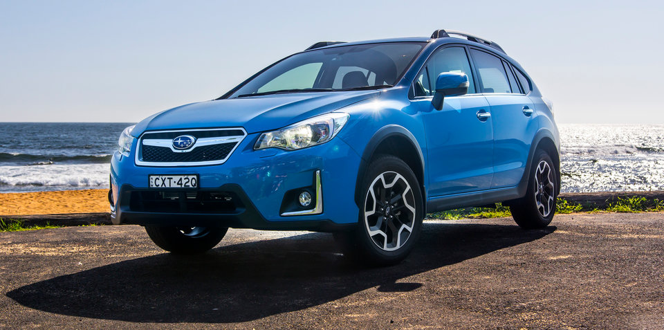 Updated Subaru XV appeared in the Russian market