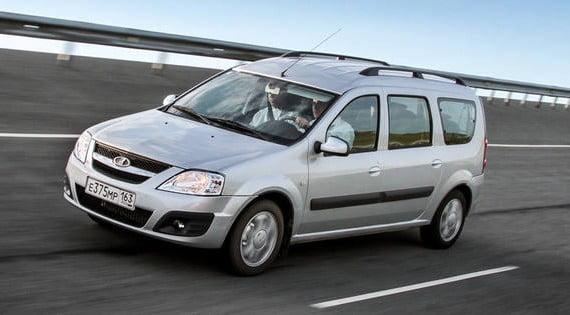 The car Lada Largus has got domestic motor