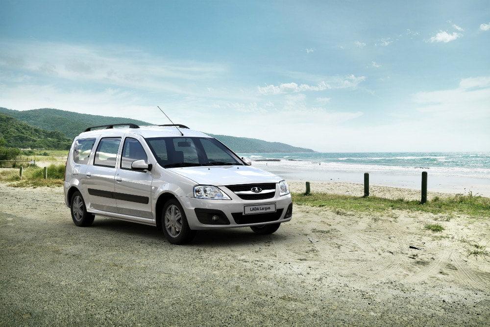 Das Auto Dacia Logan MCV hat inländischen Motor bekam
