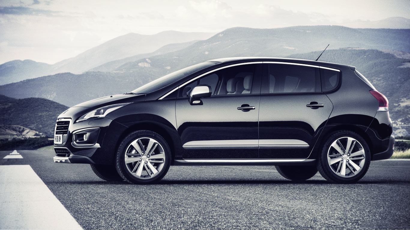 Presented by the French crossover Peugeot 3008