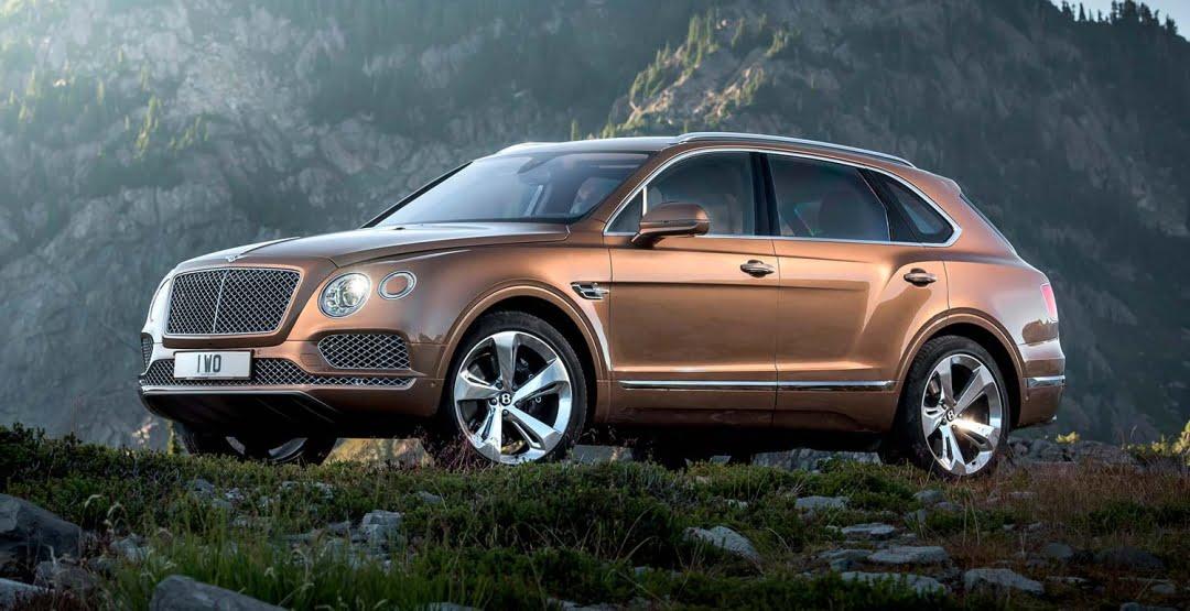 Продажи Bentley в России увеличились на 27%
