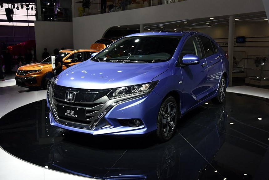 China has officially presented the Honda Gienia