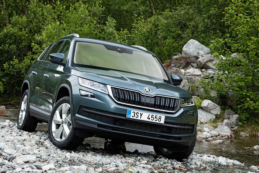 Skoda Kodiaq appear on the Russian market in the middle of the year