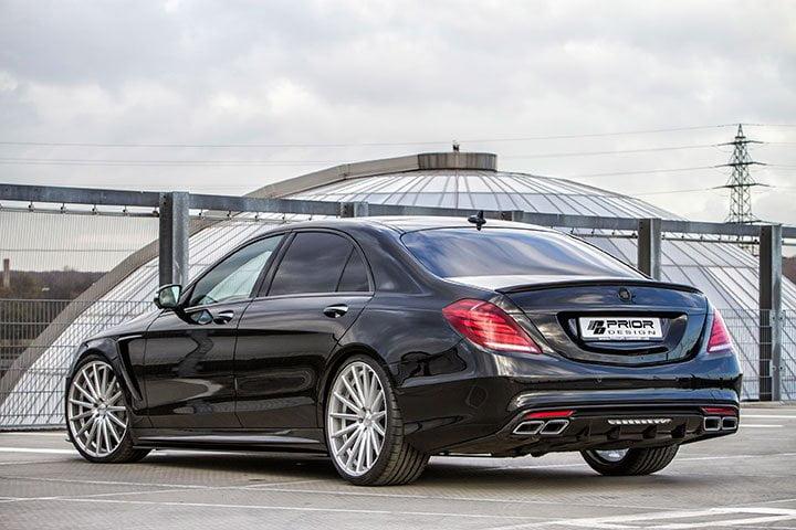 Обновленные Mercedes-Benz S-класса