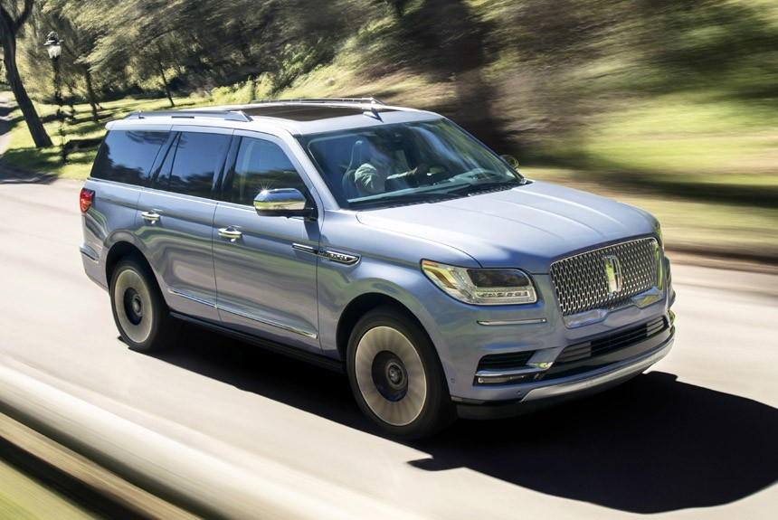 New Lincoln Navigator fascinates the look