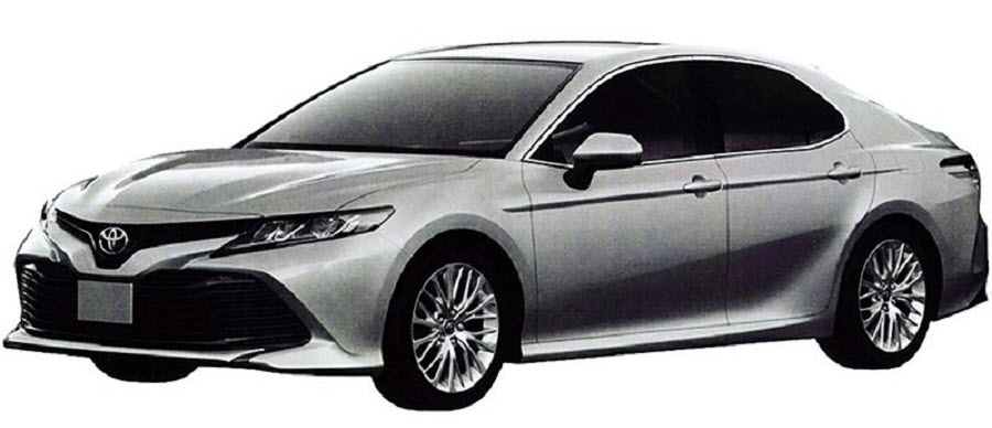 The Toyota Camry exterior for the Russian market is declassified