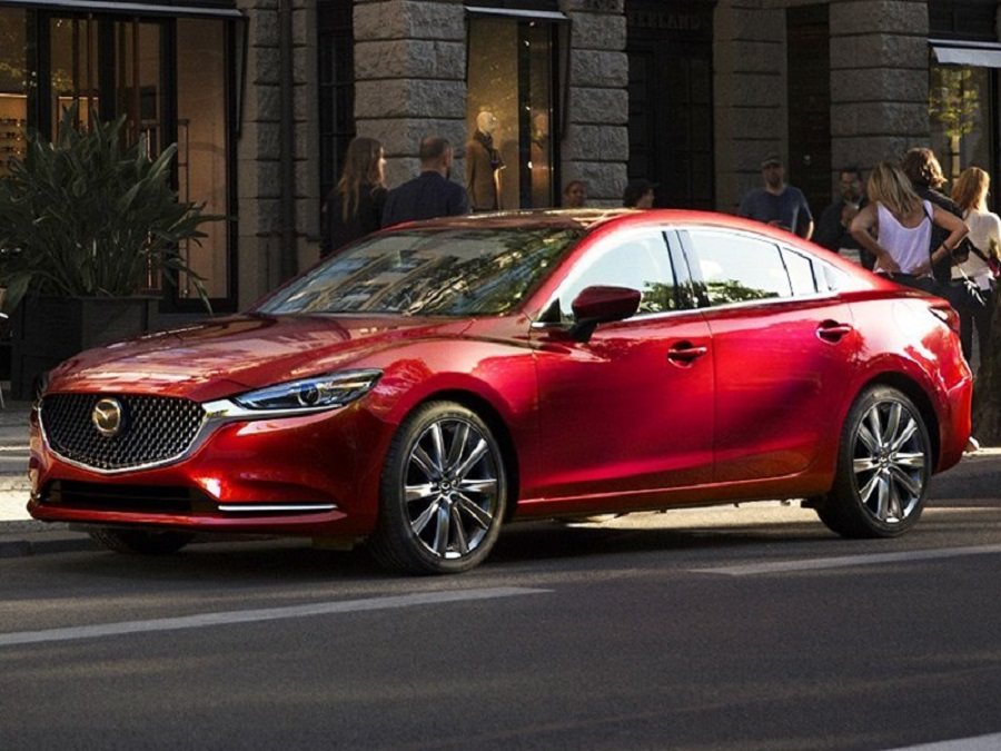 Updated Mazda6 - a hint at the premium class