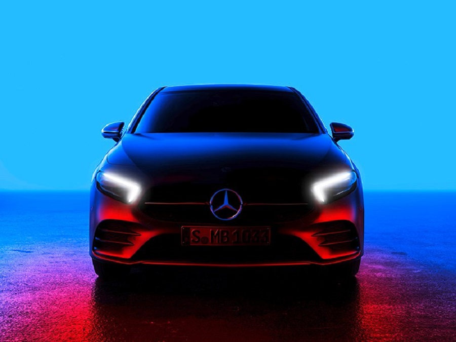 Mercedes-Benz A-class new generation will be presented this week