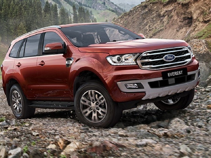 Ford introduced the updated Everest