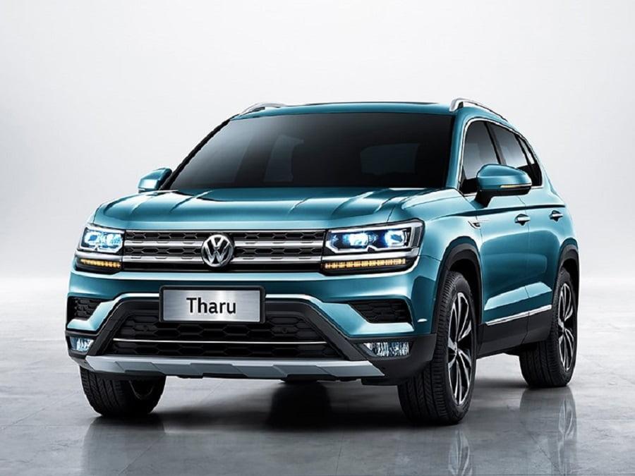 Es gab Fotos vom neuen Volkswagen Crossover für Russland und China