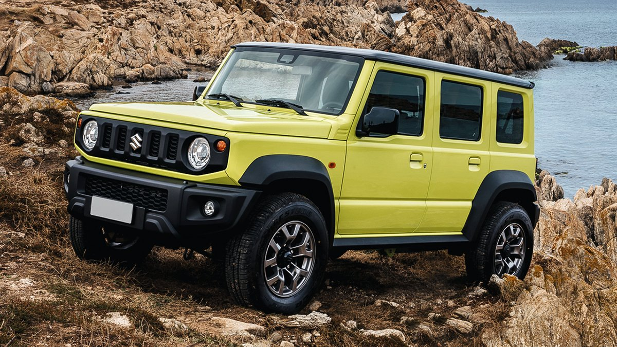 In the network there were photos of the new Suzuki Jimny