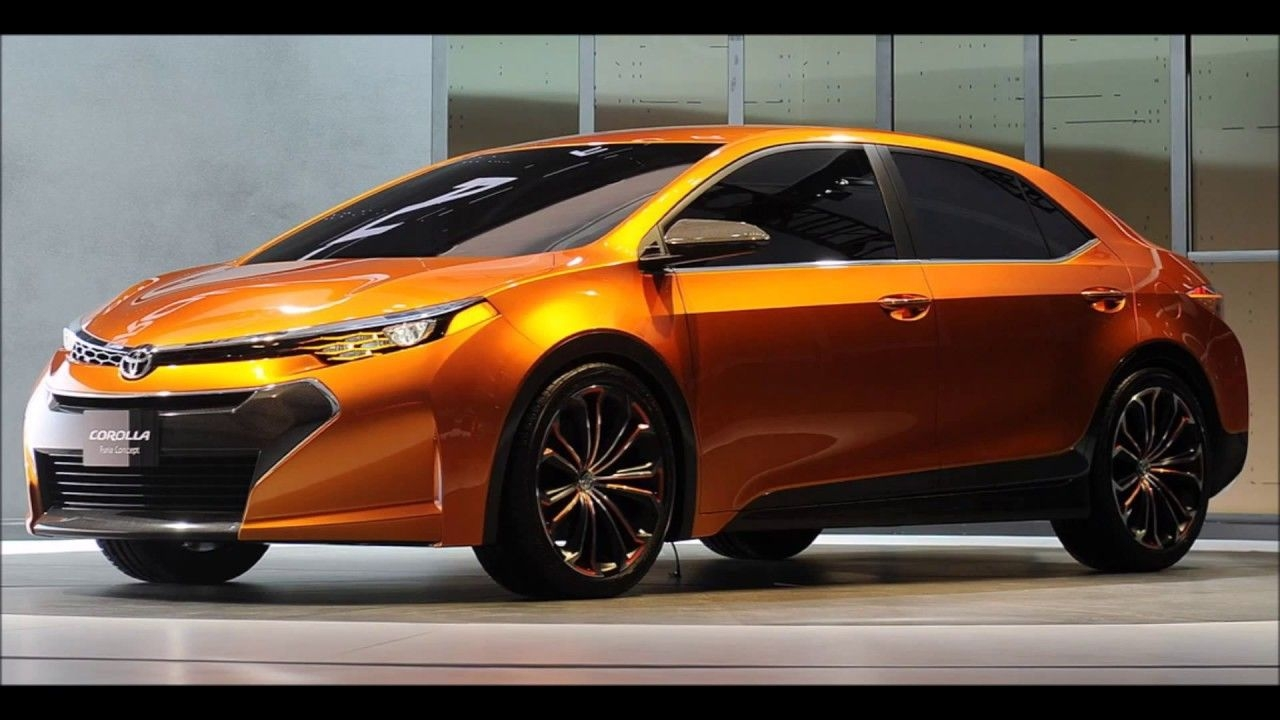 The announcement of the new Toyota Corolla