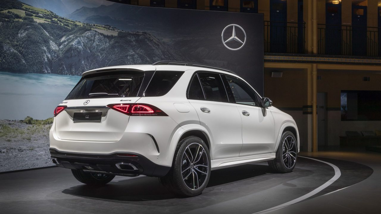 The premiere of the Mercedes-Benz GLE