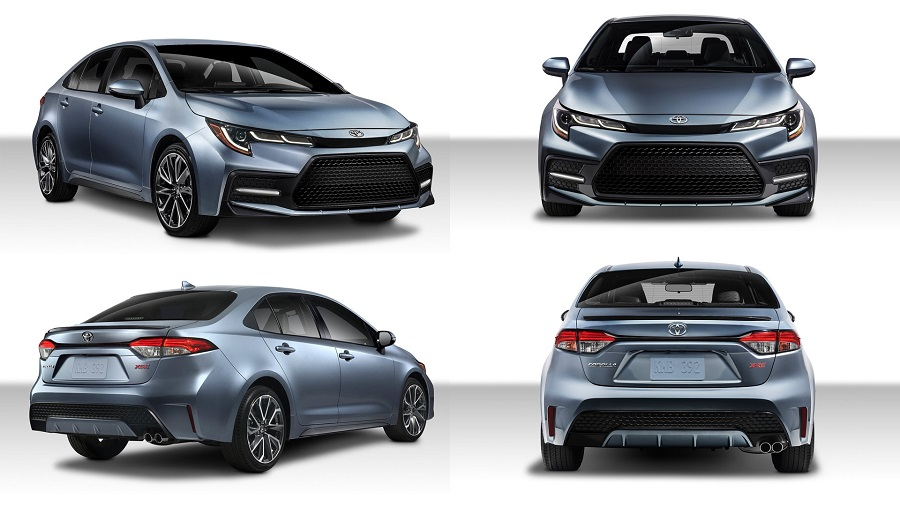 Toyota introduced to the public the most economical Corolla