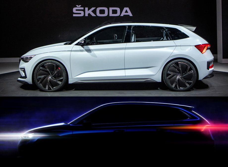 Новую модель концерна Skoda под наименованием «Скала» представили публике
