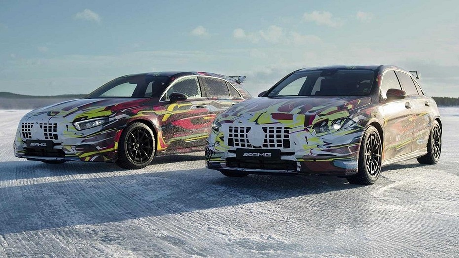 Winter trials of the new Mercedes C-Class are in full swing