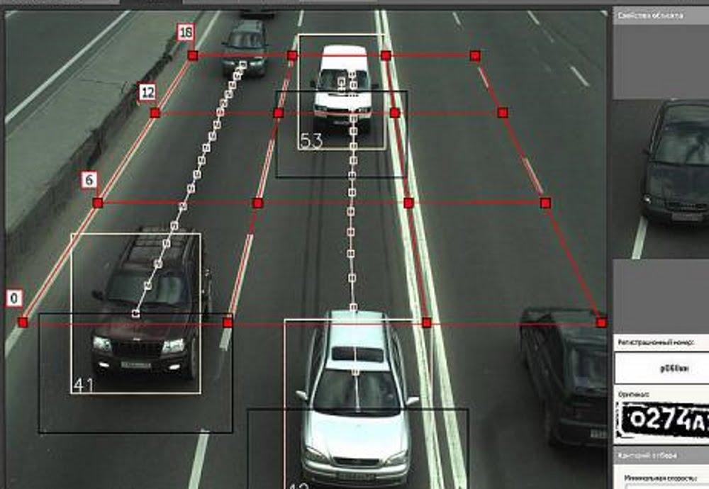 Дорожные камеры будут считать автомобили