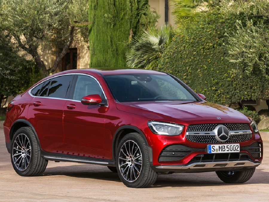 The official premiere of the Mercedes-Benz GLC Coupe