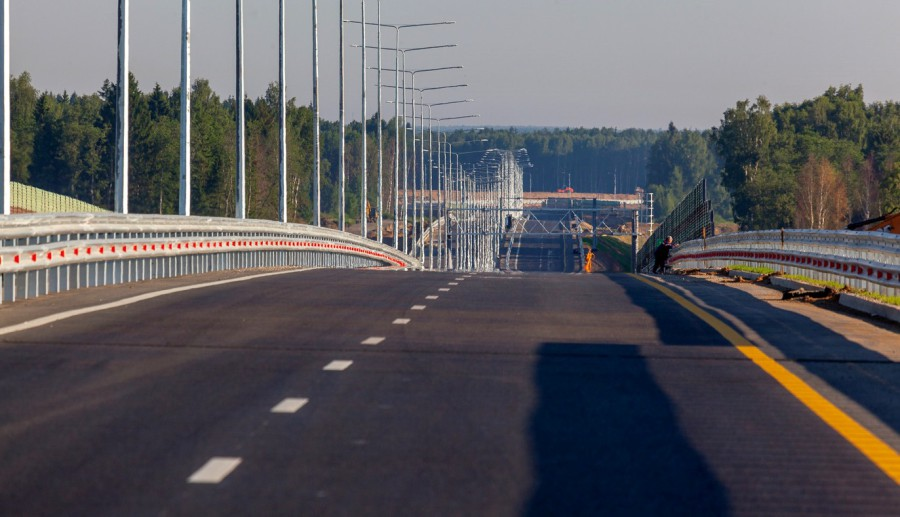 New dates for the opening of the Moscow-Petersburg toll highway were announced