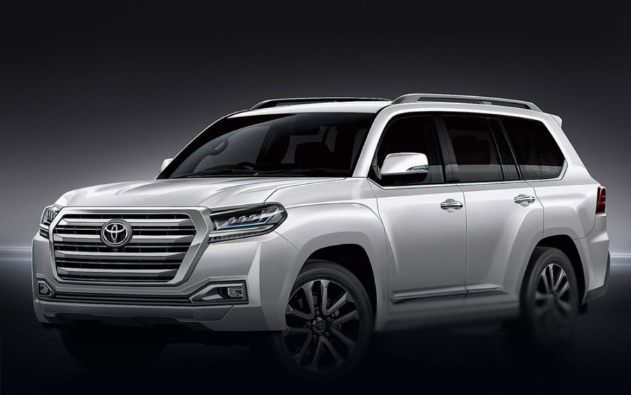 The data on the new Toyota Land Cruiser SUV became known