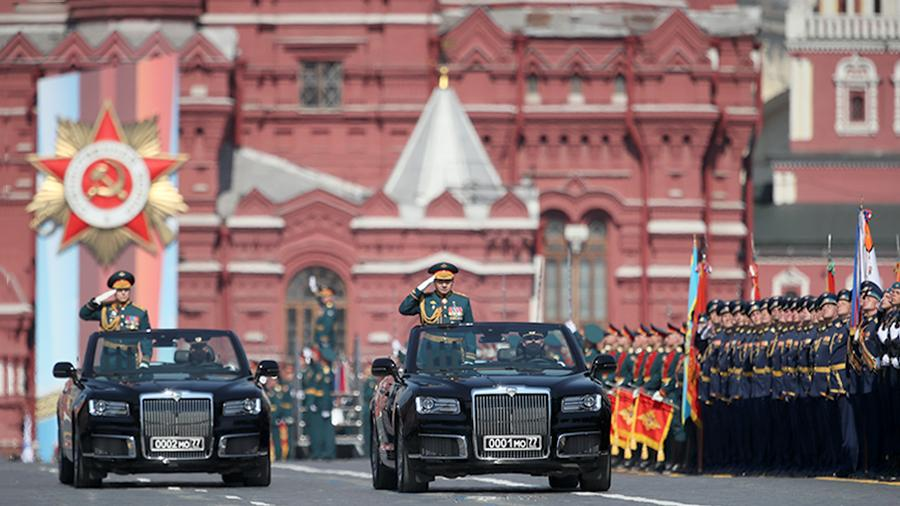 Victory parade in Moscow will be led by Aurus cars