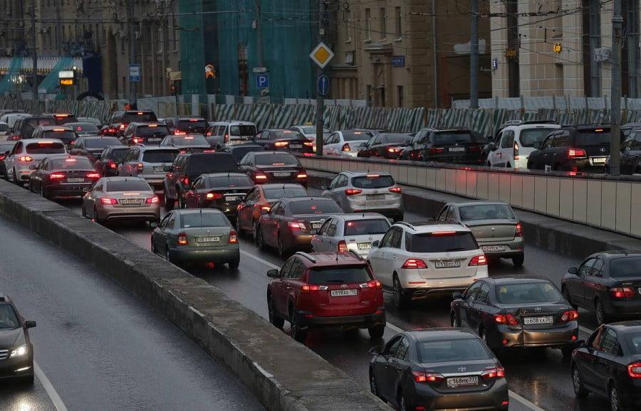 被命名为莫斯科最快,最慢的道路