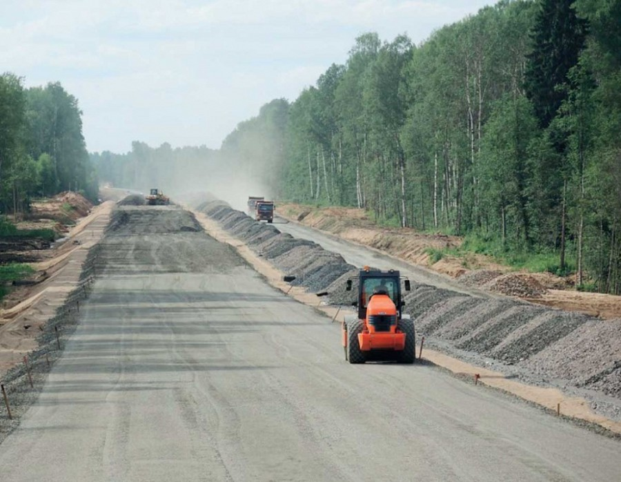 New roads in Russia will appear soon
