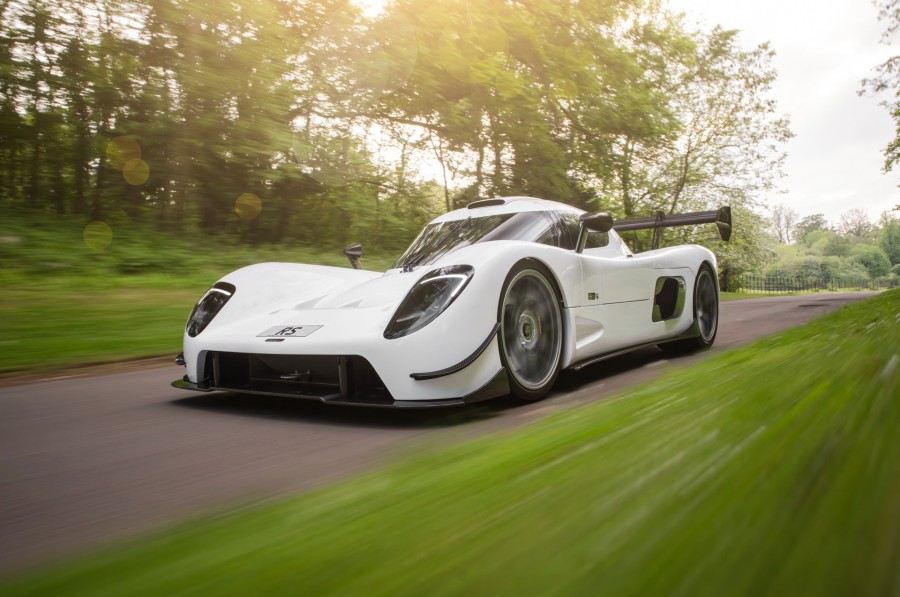 The British built an ultralight supercar