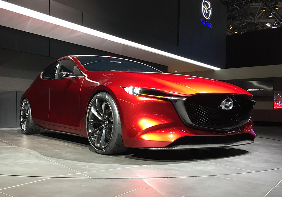 Introduced the new Mazda 3 for the Russian market