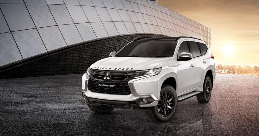 The world premiere of the Mitsubishi Pajero Sport