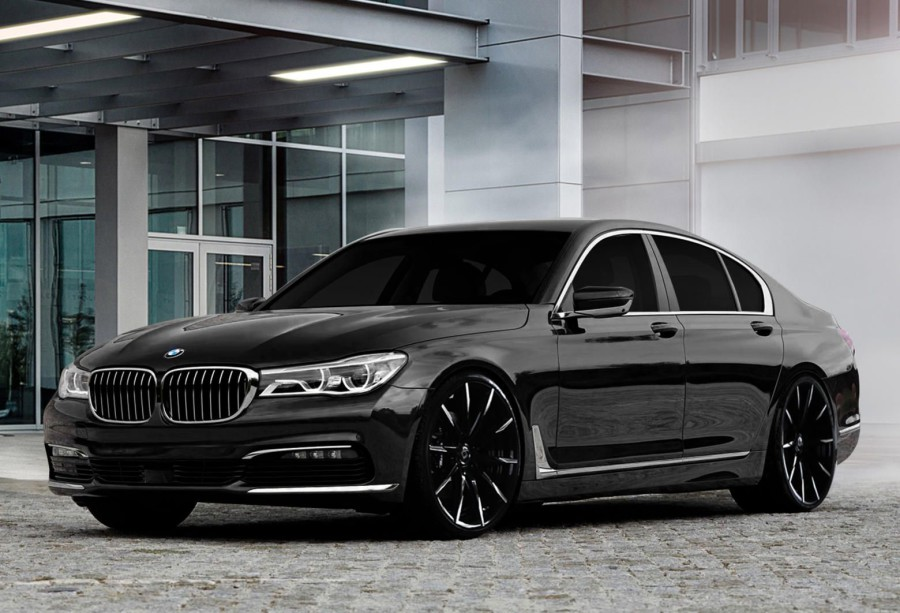 New BMW 7 Series - electric car without powerful motors