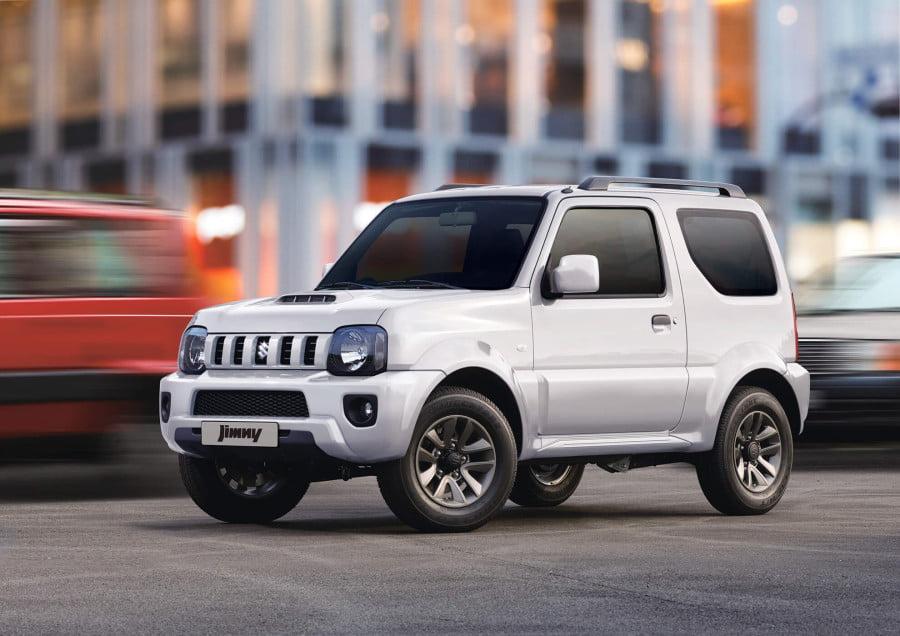 Verkauf des neuen Suzuki Jimny