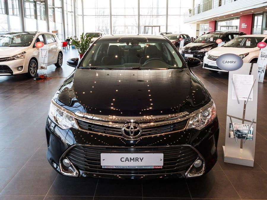 Der Absatz von Toyota Camry in Russland übertraf die 400 000-Spezifikationen