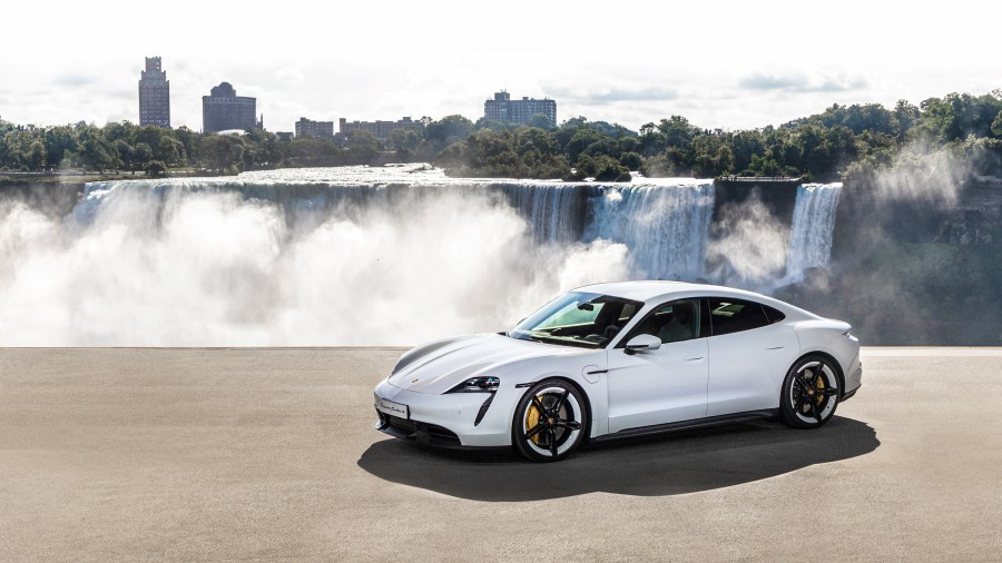 The official premiere of the Porsche Taycan
