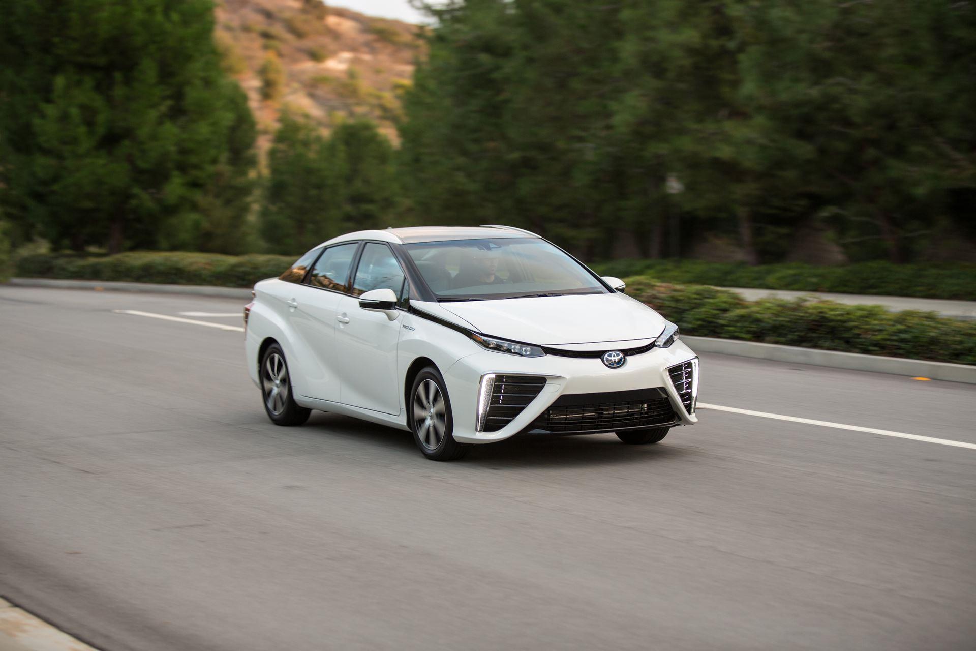 Toyota Motor stellte den aktualisierten Mirai vor