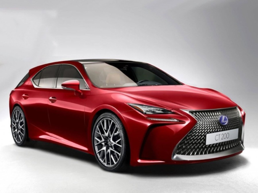 Lexus announced the presentation of a new hatchback