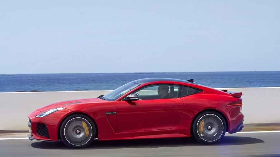 Jaguar announced the show date of the updated F-Type