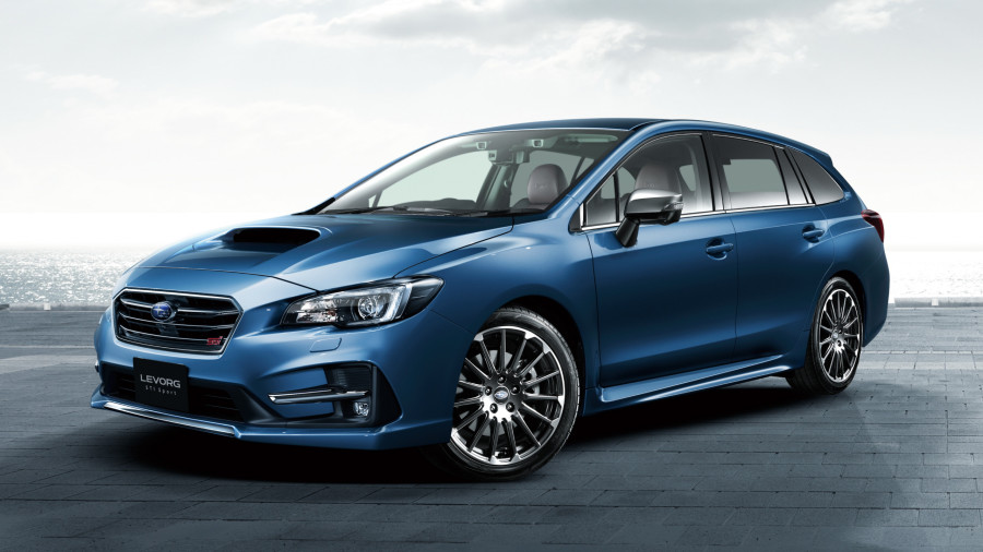 Subaru will show a charged station wagon