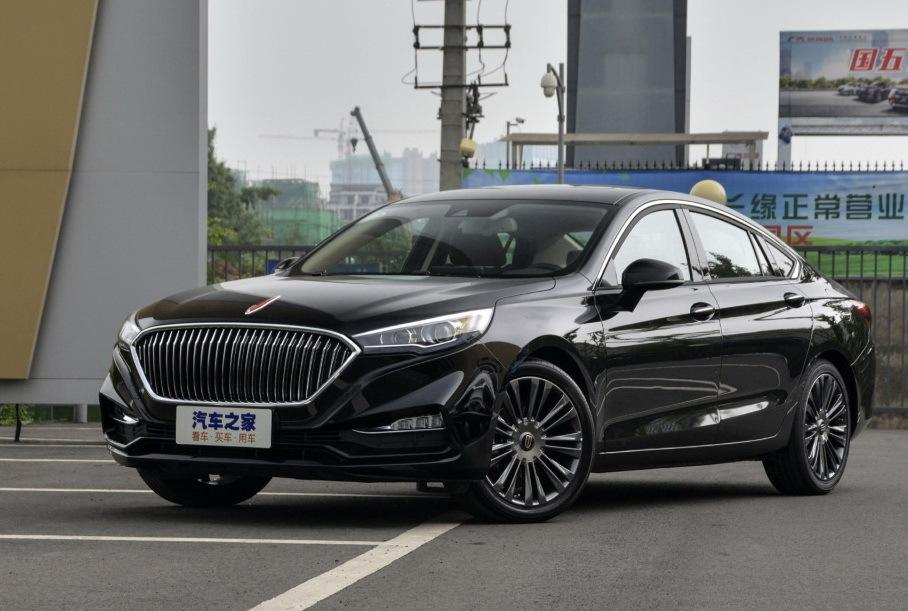 Hongqi introduced their version of the Mazda 6