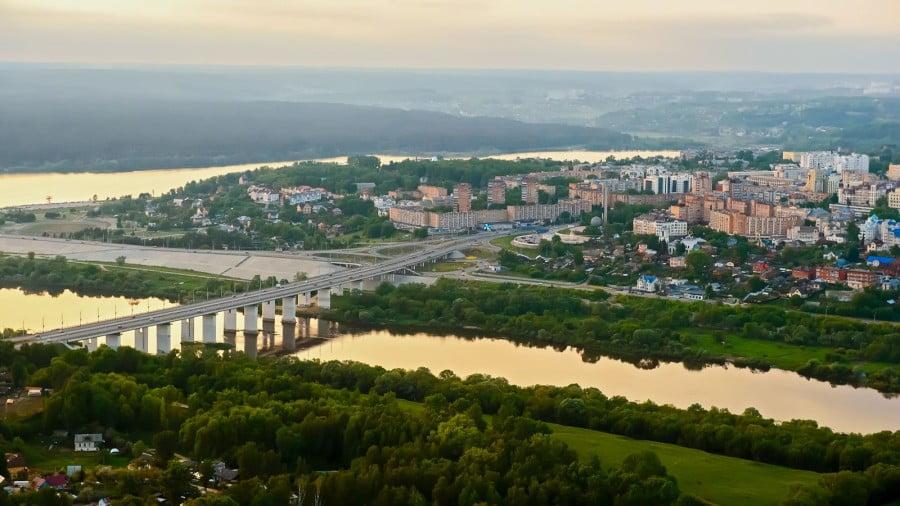 Intercity transfer Moscow - Kaluga