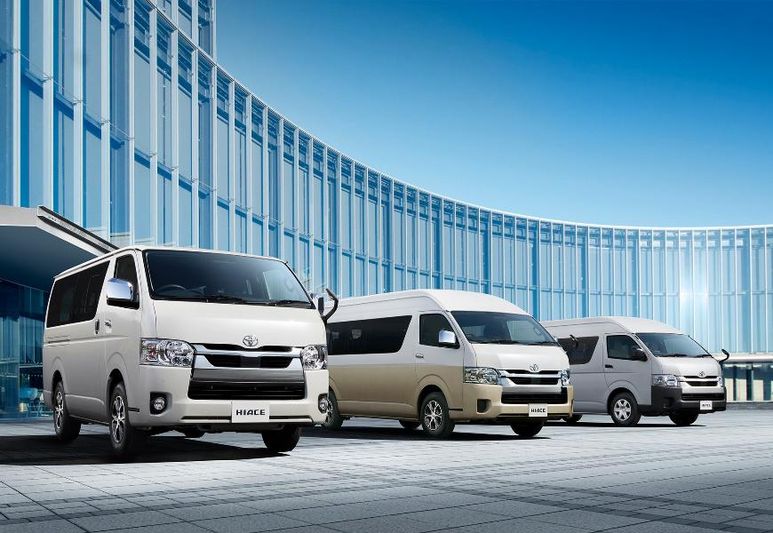 Toyota Hiace Wagon Gets More Security