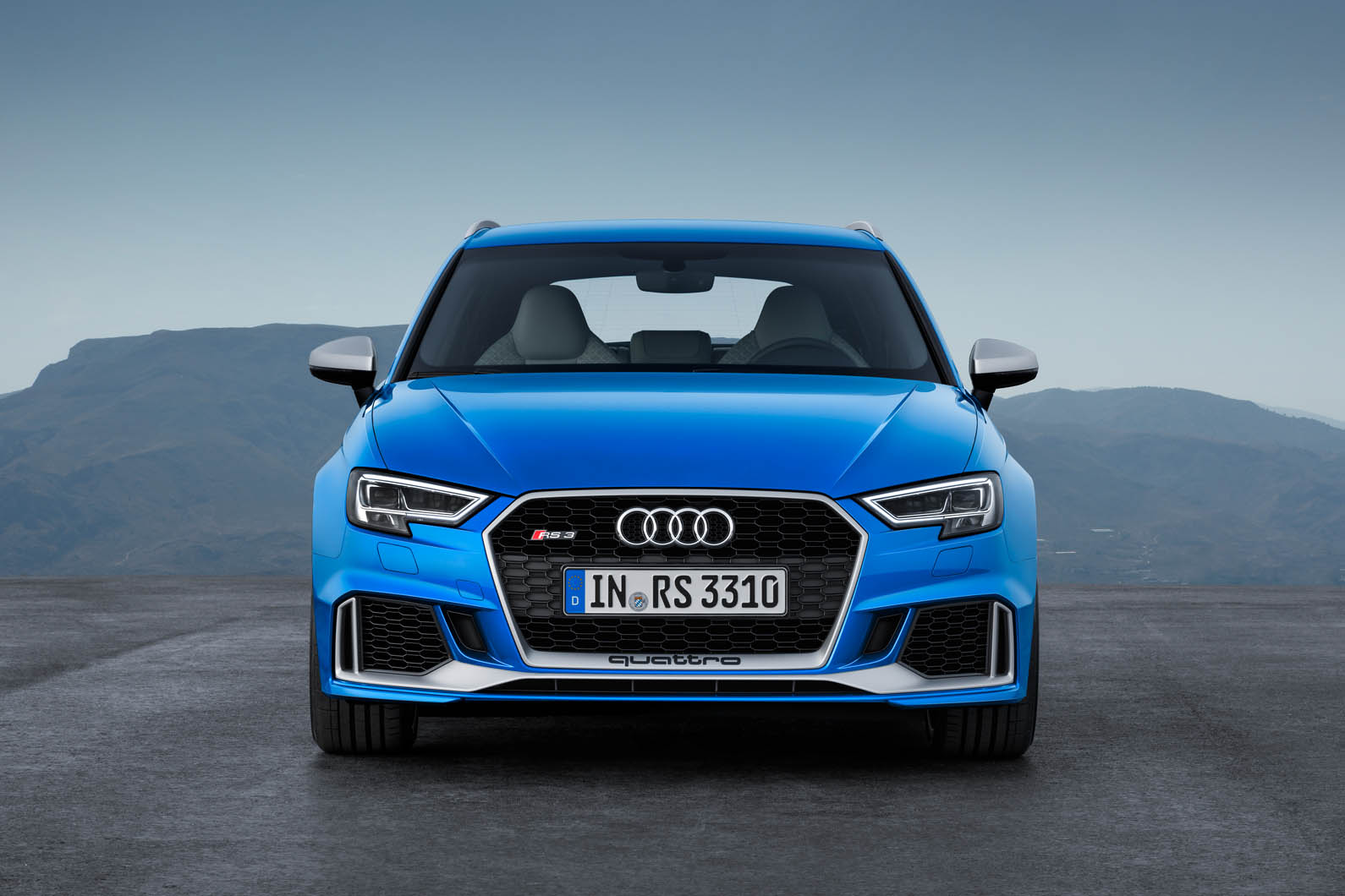 Famous Audi brand introduced RS3 in a new version and configuration