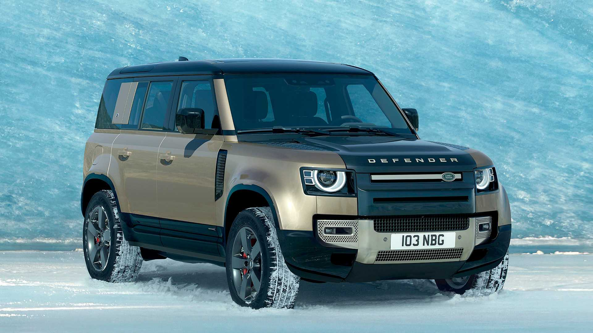 Новый Land Rover Defender проходит тестирование